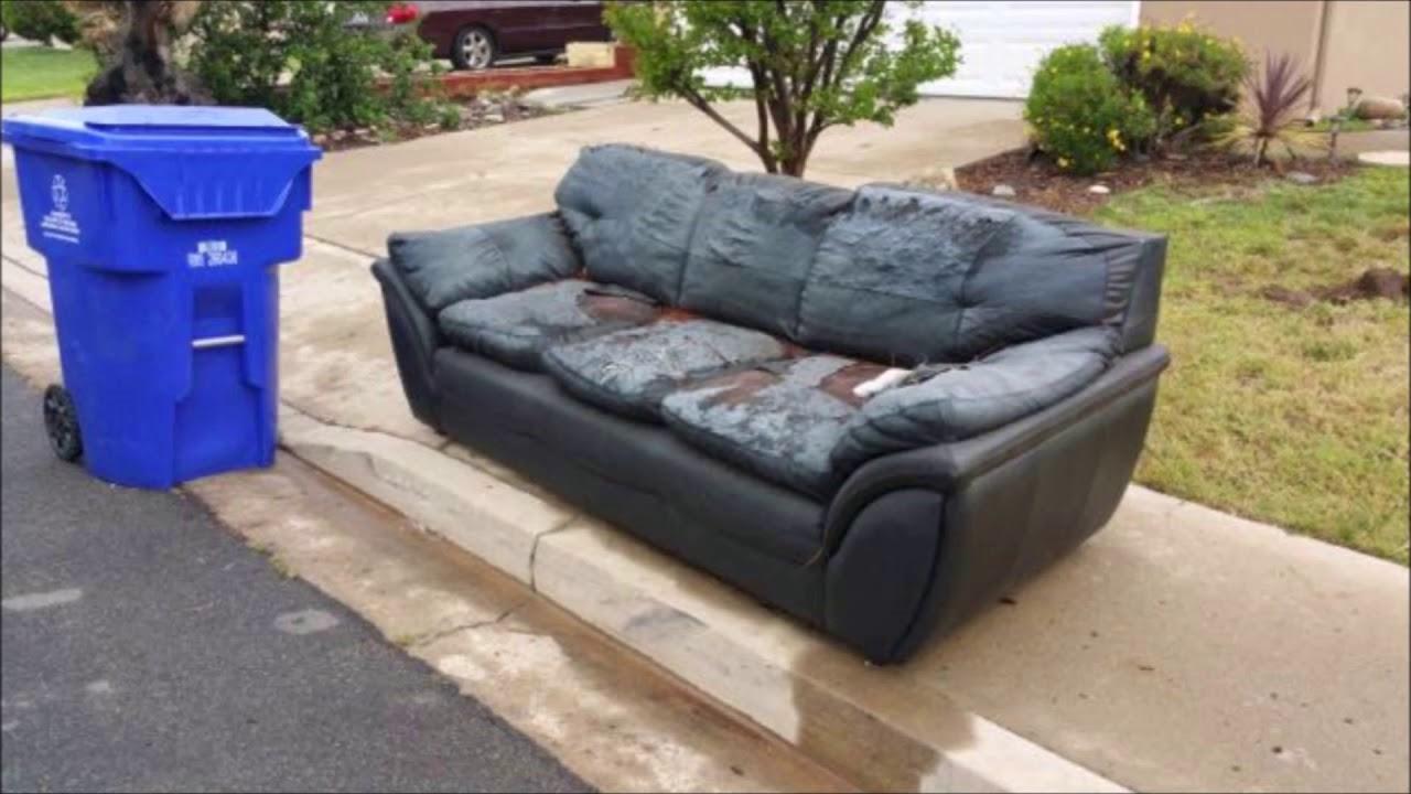 Curbside Junk Furniture Sofa Pickup Garbage Omaha Rh You Com Pick Up Nyc