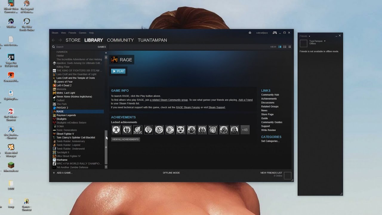 SHARE LIBRARY GAME STEAM dengan temanmu  [INDO]
