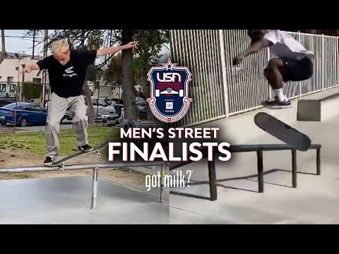 MEN'S STREET FINALISTS | 2021 USA SKATEBOARDING NATIONAL CHAMPIONSHIPS