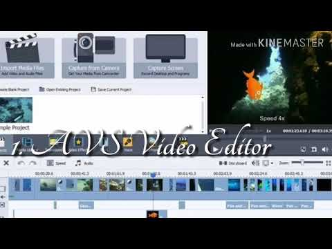 aplikasi edit video pc ringan dan mudah