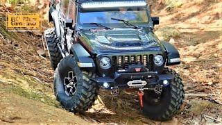 RC Car Axial SCX10 III Jeep JT Gladiator ASMR 2 지프 글래디에이터