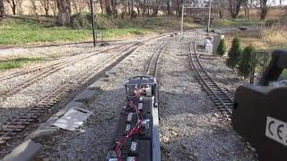 1 inch scale E 9 test run