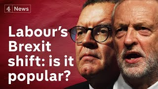 Brexit: Do voters back Labour's change of heart?