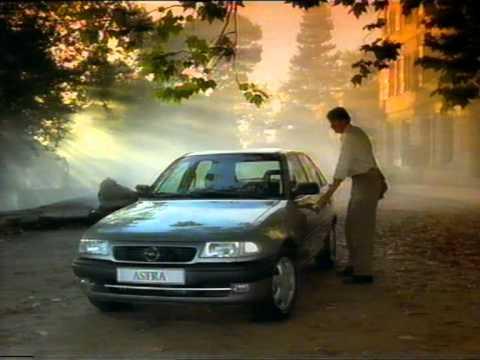opel astra f 1st generation 1991 1998 werbung old tv commercial reklama ca 1995. Black Bedroom Furniture Sets. Home Design Ideas