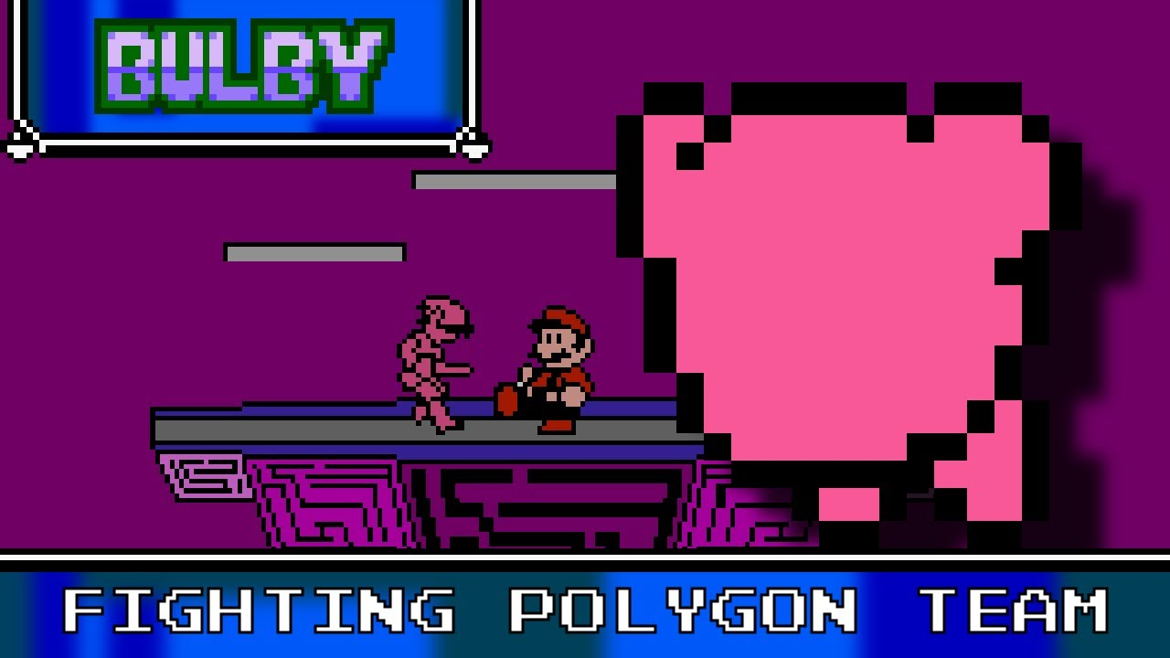 Fighting Polygon Team 8 Bit Super Smash Bros YouTube