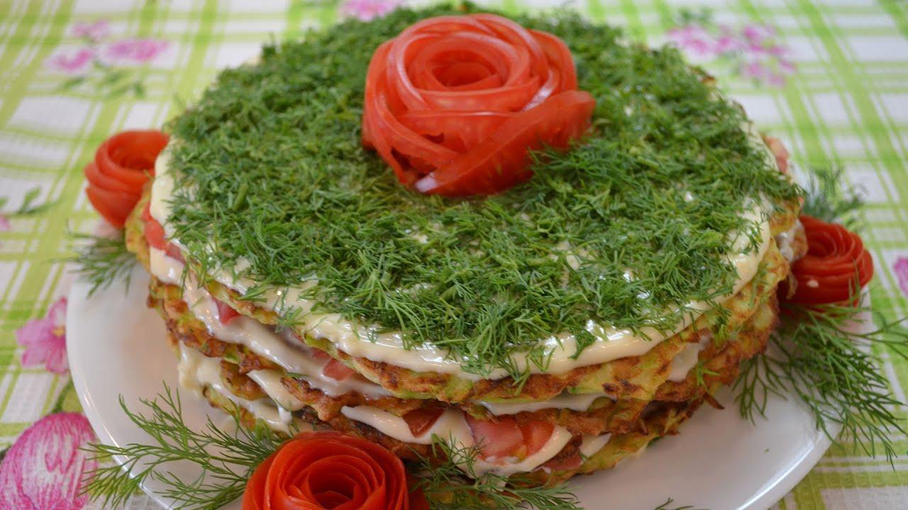 торт из кабачка рецепты с фото