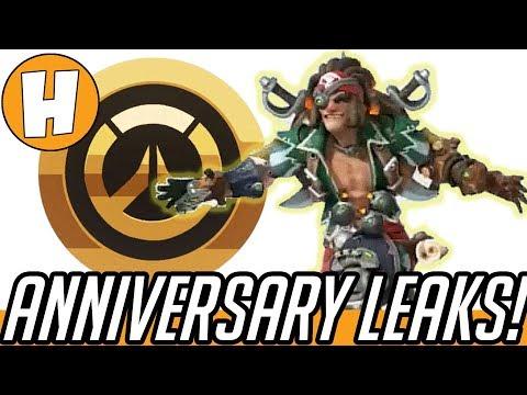 Overwatch Anniversary 2018 LEAKS - Pirate Junkrat Skin + Date News! | Hammeh