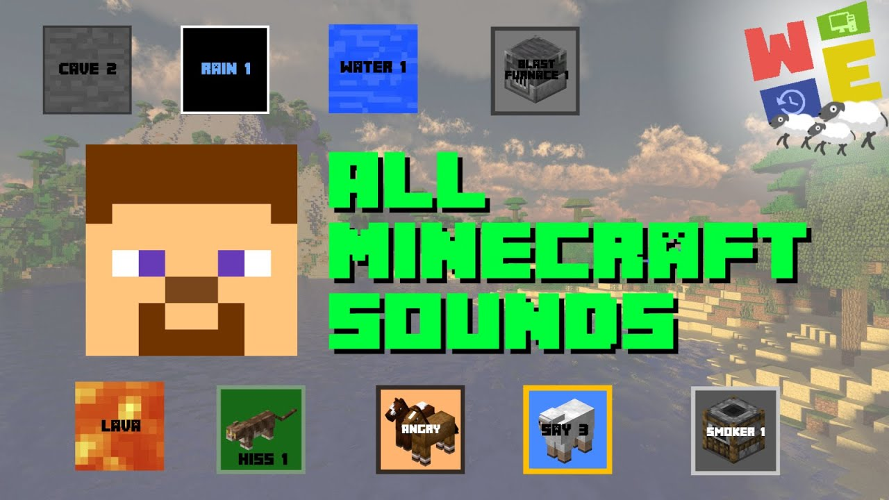 ALL MOJANG MINECRAFT SOUND EFFECTS 2020