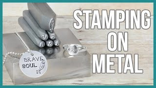 How to Stamp on Metal, Metal Stamping for Beginners - Beaducation.com