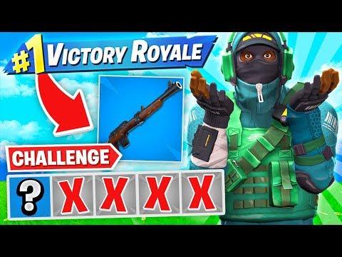 winning-with-first-gun-only-challenge!