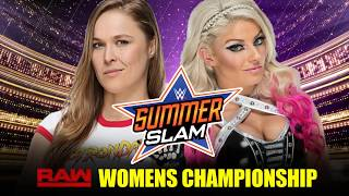 WWE SummerSlam 2018 Match Card Predictions