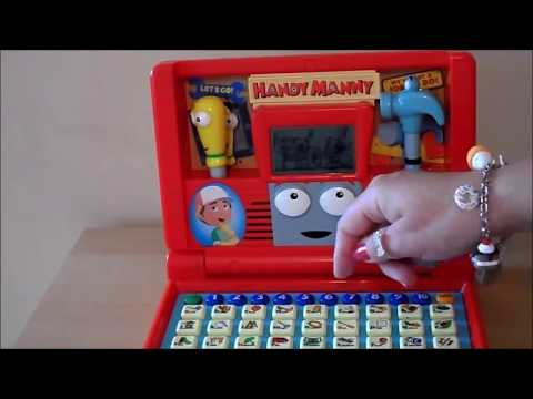 Handy Manny - Season 2 Disney Laptop To Learn English Letters, Numbers & Phonics