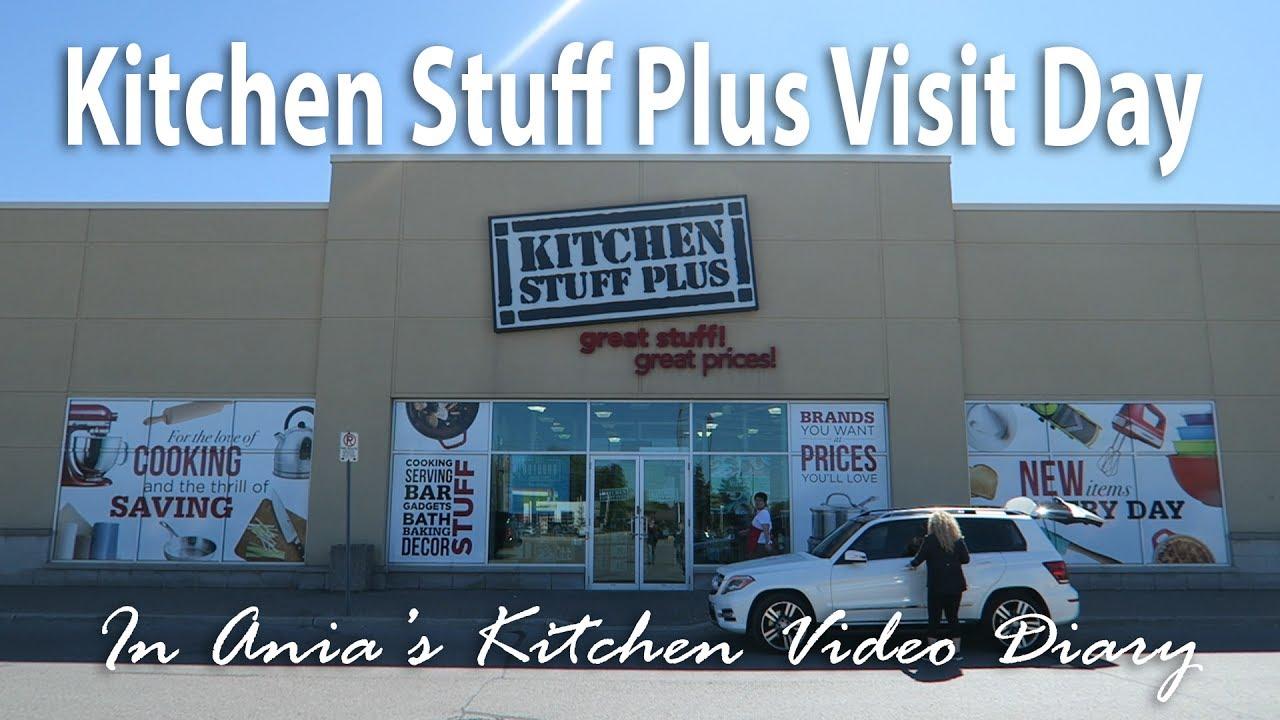 Ania\'s Video Diary - Kitchen Stuff Plus Visit Day - Daily Vlog - YouTube
