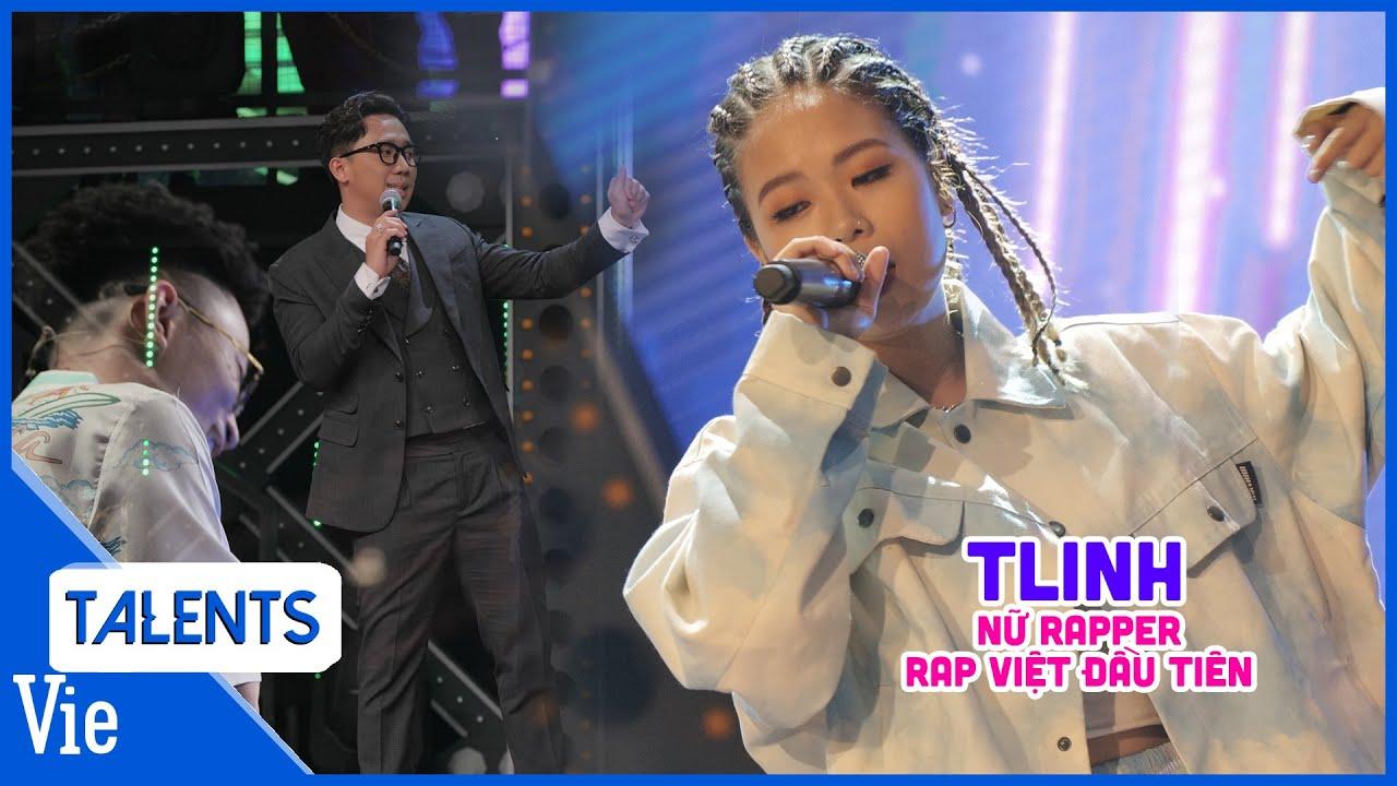 Nữ rapper 20 tuổi TLinh chinh phục trái tim Suboi, Karik, Wowy, tiết lộ mới học rap vài tháng