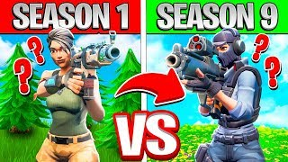 DESAFIO QUIZ-SEASON 1 vs 9 ª temporada! -FORTNITE * DIFFICILE *