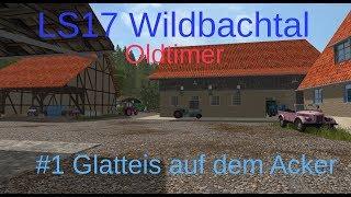 LS17 | Wildbachtal | Oldtimer | #1 Glatteis auf dem Acker