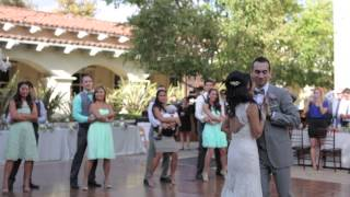 """""""A Thousand Years"""" Choreographed First Dance Waltz - Mike and Christy w/ Wedding Party"""