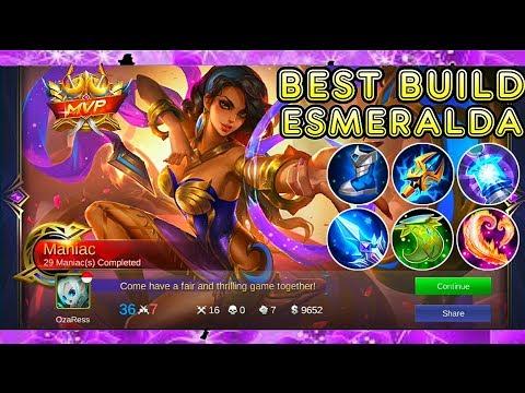 Esmeralda Best Build - Mobile Legends Bang Bang thumbnail