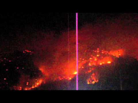 East Missoula / Bonner Montana Wildfire Aug 22, 2011