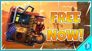 *NEW* Fortnite - ITEM IS FREE NOW! Rust Bucket Back Bling FREE! (Fortnite Battle Royale)