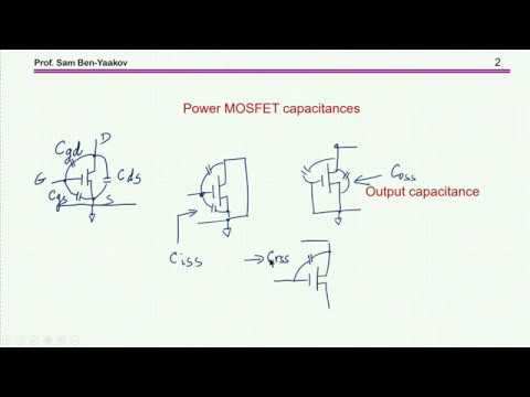 Deciphering  Coss of power MOSFETs