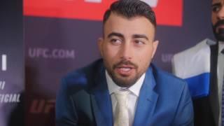 Makwan Amirkhani reveals he is in the best shape of his life ahead of UFC London