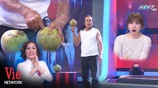 Người đàn ông xác lập Kỷ lục Guinness Việt Nam với màn trình diễn đâm thủng quả dừa bằng ngón tay