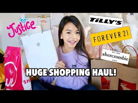 HUGE SHOPPING HAUL!!!Kaynak: YouTube · Süre: 9 dakika41 saniye