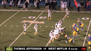 Thomas Jefferson at West Mifflin, Panera Bread Bowl High School Football Game of the Week