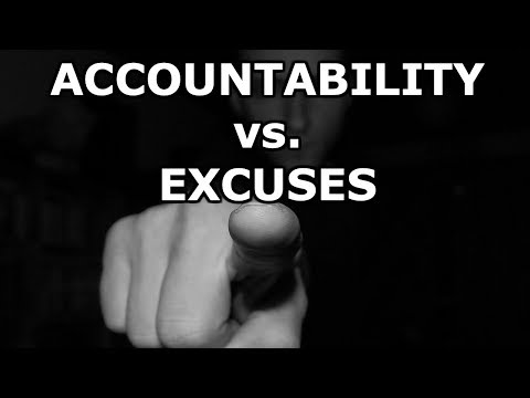 The thin line between accountability and dismissing responsibility [2019]