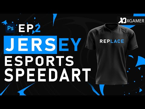 SPEED ART (XGAMER DESIGNER) JERSEY E--SPORTS -PS TOUCH (REPLACE.GGS)