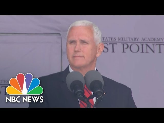 Pence Congratulates African American Women West Point Cadets: 'I Couldn't Be More Proud' | NBC News