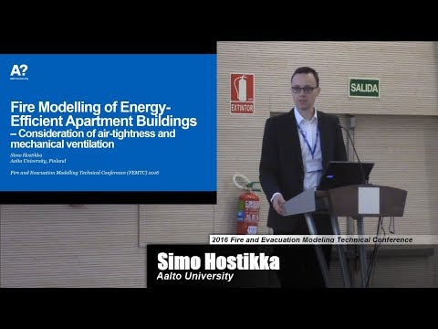 Fire Modelling Of Energy-Efficient Apartment Buildings