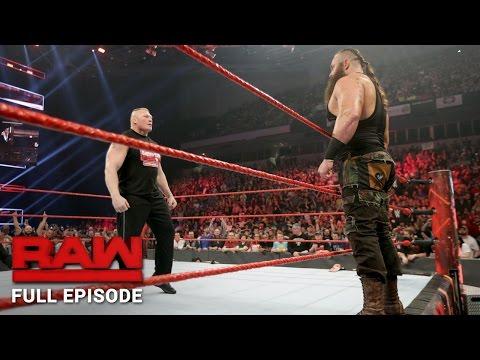 WWE Raw Full Episode, 16 January 2017