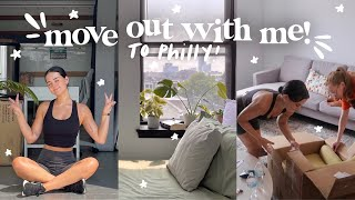MOVING VLOG + first day living in my new apartment!✨