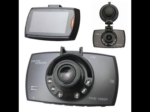"2.7"" HD Full hd 1080p Dash Cam Car Camcorder quick review & demo"