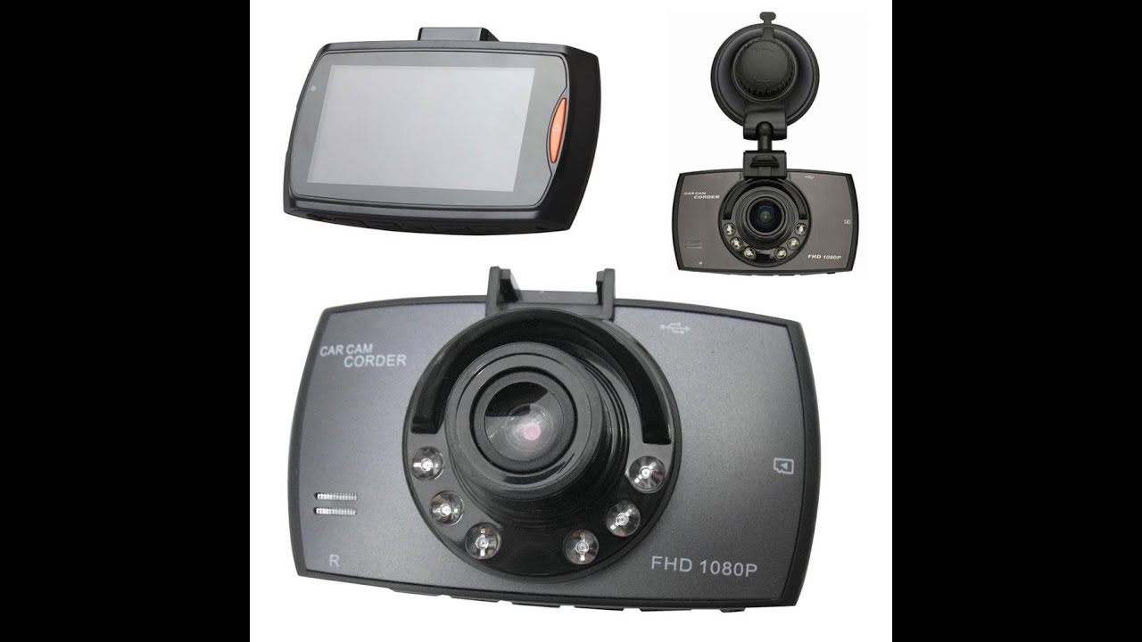 small resolution of 2 7 hd full hd 1080p dash cam car camcorder quick review demo youtube
