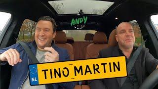 Tino Martin - Bij Andy in de auto! (English subtitles)