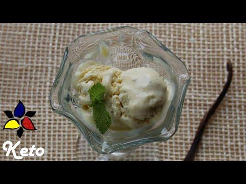Keto Version of Häagen-Dazs Vanilla Bean Ice Cream | Keto Recipes | Keto Ice Cream | Sugar Free