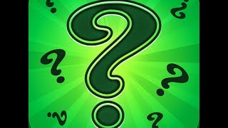 Riddle Me That! - Level 1 Answers 1-20