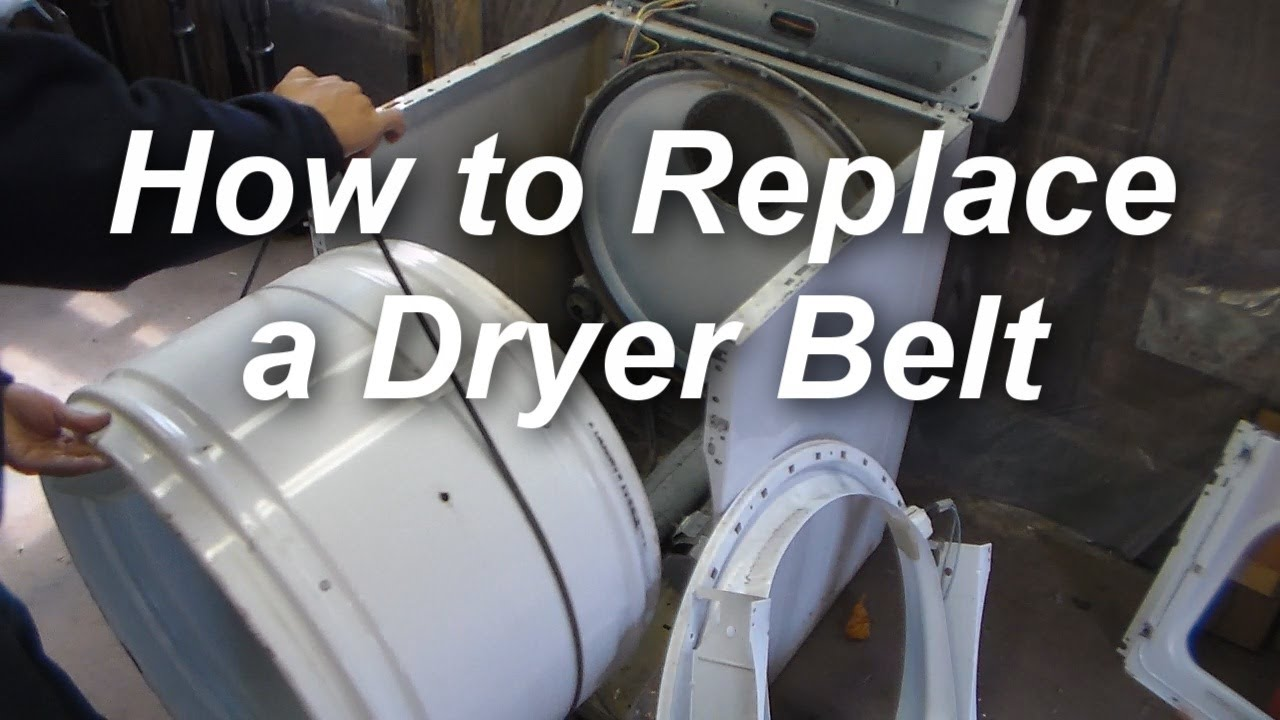 how to replace a belt on a maytag dryer youtube rh youtube com maytag performa dryer [ 1280 x 720 Pixel ]