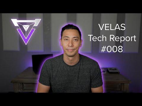 Velas Tech Report 08.01.20 - 08.18.20