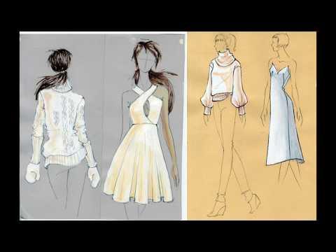 How to Illustrate White Fabrics