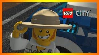 Мультфильм LEGO City про полицию СПАСТИ НАТАЛЬЮ Мультики Лего Сити 20 серия [1]. Игровой мультик