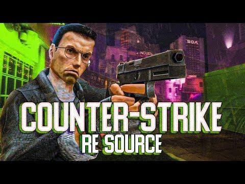 НОВЫЙ COUNTER-STRIKE RE-SOURCE (CS получил новую улучшенную графику)
