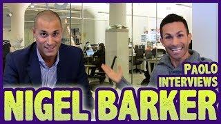 "Nigel Barker Talks About Hosting Oxygen's Show ""The Face""!"