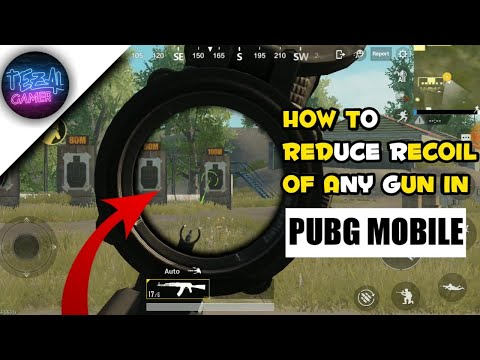 Top secret NO RECOIL setting in pubg mobile   how to reduce