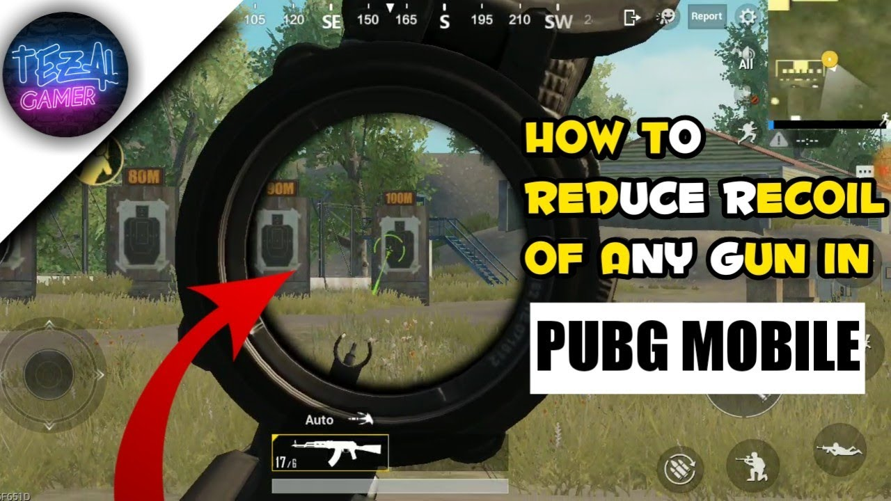 Top secret NO RECOIL setting in pubg mobile   how to reduce recoil of any  gun   IN HINDI  