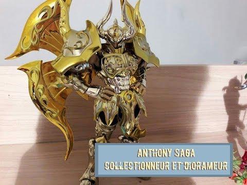 Saint seiya myth cloth ex soul of gold: aldebaran du taureau