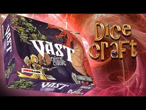 12#Dicecraft: Vast The Crystal Cavern Recensione